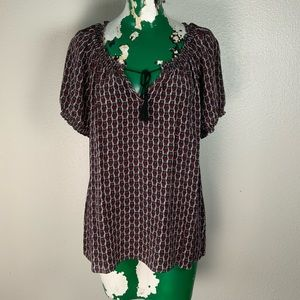 Joie Top with Owl Print size L